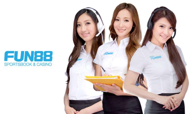 หากคุณมีข้อสงสัย มีปัญหา ปรึกษากับเรา ทีมนางฟ้า fun88.com