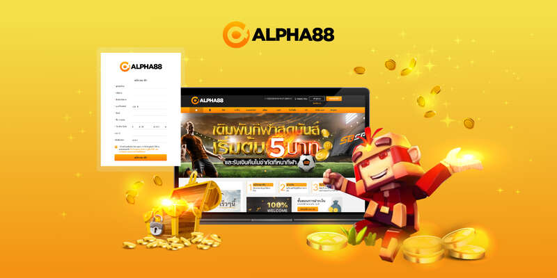 Alpha88 สมัครได้ทั้งทาง pc และ smartphone