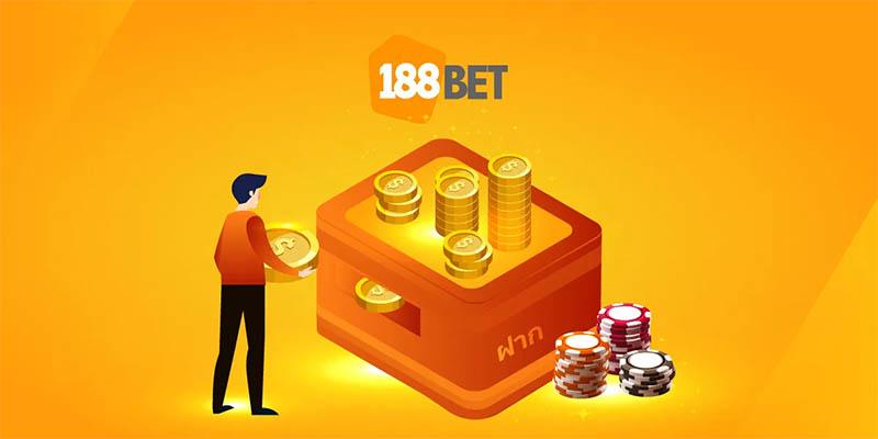 วิธีฝากเงิน 188Bet ที่ให้คุณมีตัวเลือกการฝากมากมาย